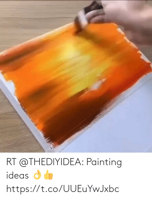 painting: RT @THEDlYIDEA: Painting ideas 👌👍 https://t.co/UUEuYwJxbc