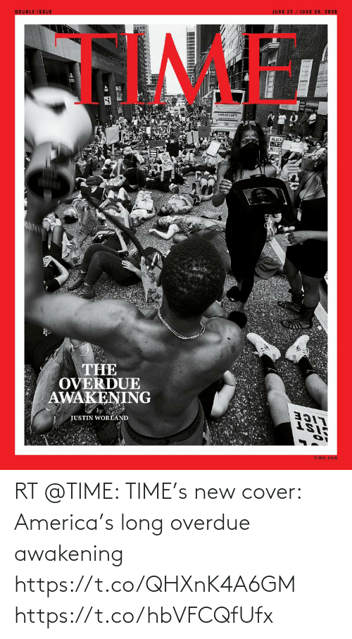 Cover: RT @TIME: TIME's new cover: America's long overdue awakening https://t.co/QHXnK4A6GM https://t.co/hbVFCQfUfx
