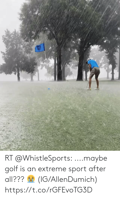 extreme: RT @WhistleSports: ....maybe golf is an extreme sport after all??? 😭  (IG/AllenDumich) https://t.co/rGFEvoTG3D