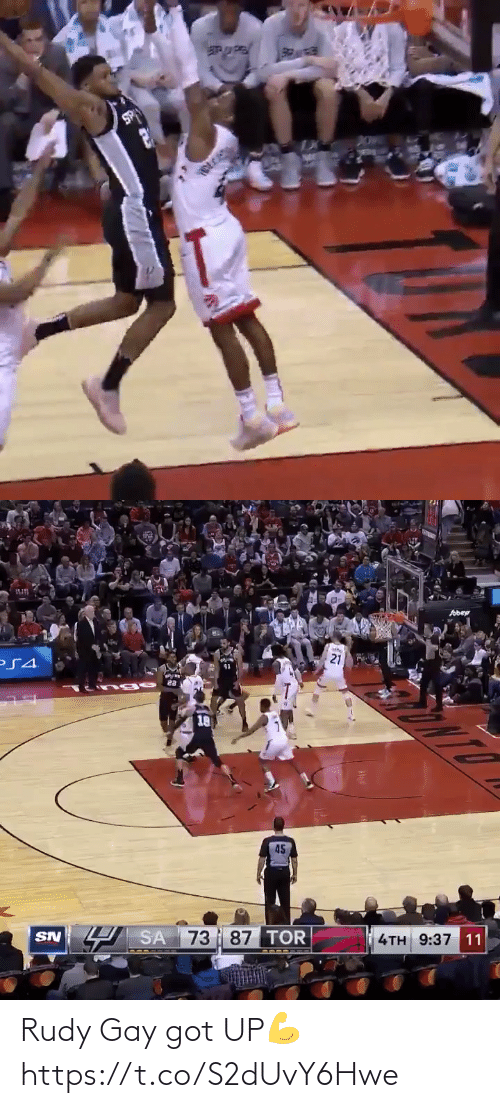 got: Rudy Gay got UP💪 https://t.co/S2dUvY6Hwe