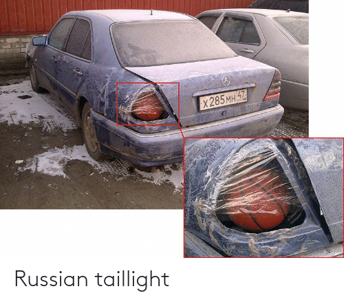 Russian and Taillight: Russian taillight