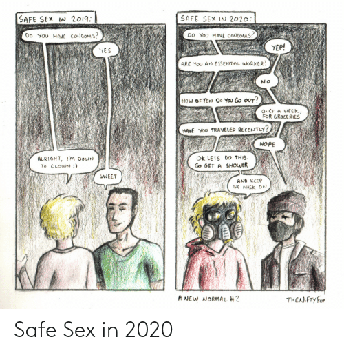 Sex: Safe Sex in 2020