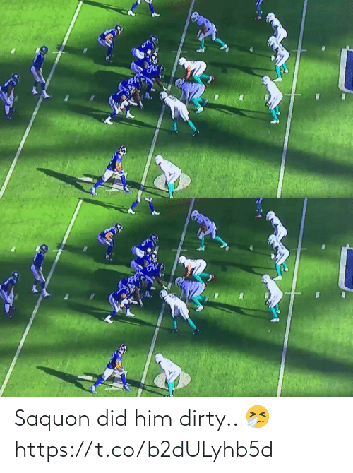 Dirty: Saquon did him dirty.. 🤧 https://t.co/b2dULyhb5d