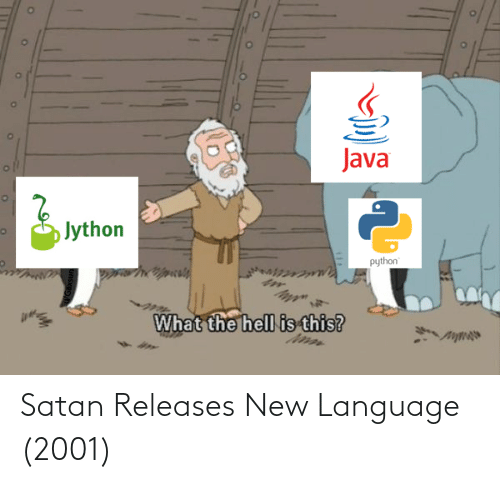 language: Satan Releases New Language (2001)