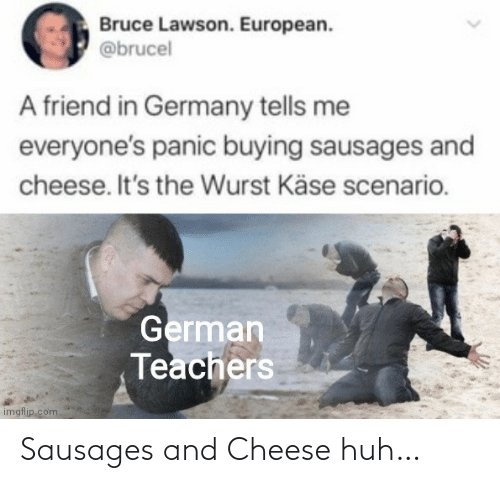 cheese: Sausages and Cheese huh…