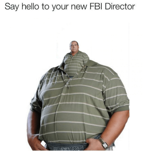 director: Say hello to your new FBI Director
