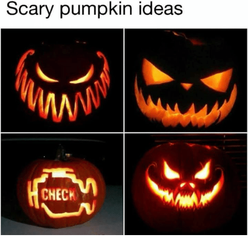 Pumpkin, Ideas, and Check: Scary pumpkin ideas  CHECK