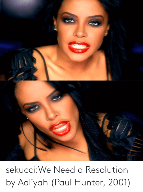 paul: sekucci:We Need a Resolution by Aaliyah (Paul Hunter, 2001)