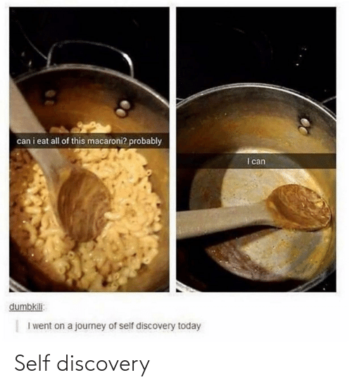 discovery: Self discovery