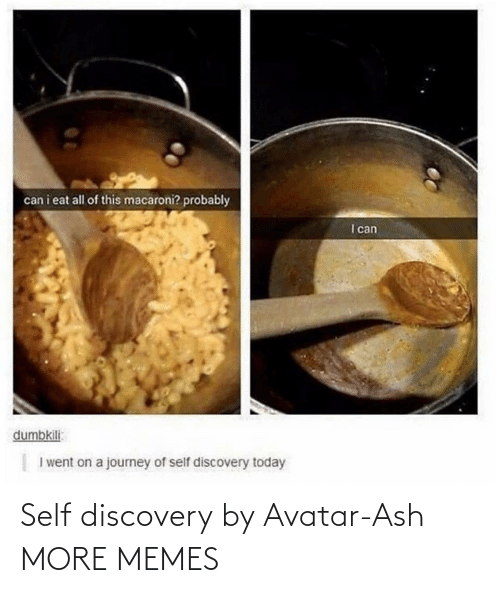 discovery: Self discovery by Avatar-Ash MORE MEMES