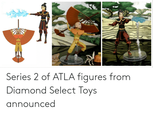 Toys: Series 2 of ATLA figures from Diamond Select Toys announced