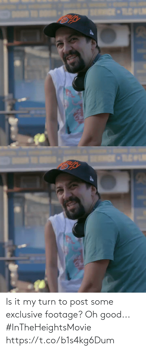 Memes, Good, and 🤖: SERRCE TLELM   ENDE-TLEWLM Is it my turn to post some exclusive footage? Oh good... #InTheHeightsMovie https://t.co/b1s4kg6Dum