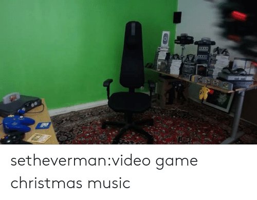 Christmas, Music, and Target: setheverman:video game christmas music