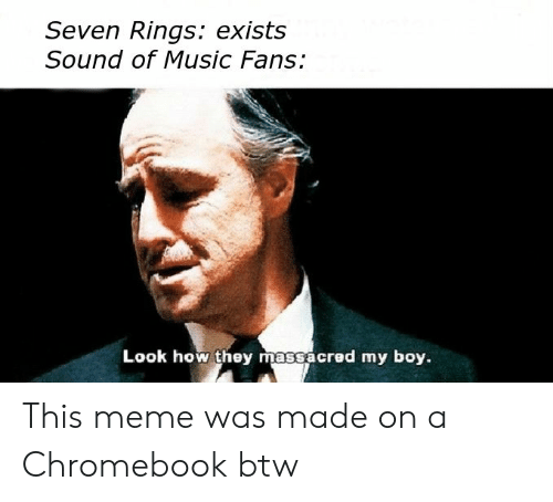 Seven Rings Exists Sound of Music Fans Look How They
