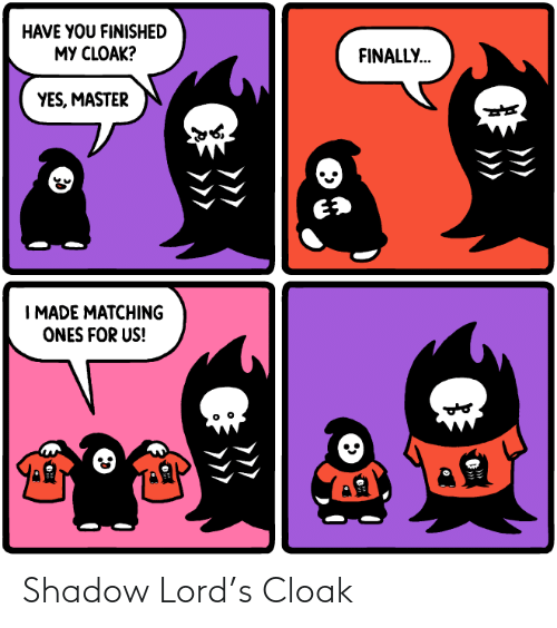 lord: Shadow Lord's Cloak