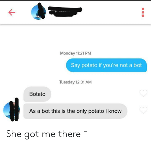 Got Me: She got me there ¯