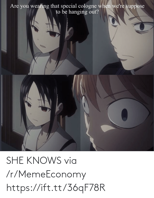 she knows: SHE KNOWS via /r/MemeEconomy https://ift.tt/36qF78R