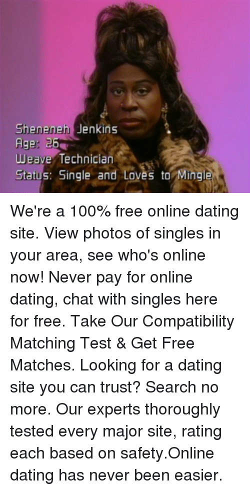 Online dating test kompatibility