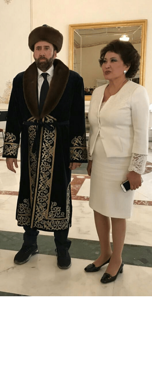 Physical: sipalamana:  crowtrobot2001: Meanwhile, Nicolas Cage is in Khazakstan   maybe his physical form is there but that's about it
