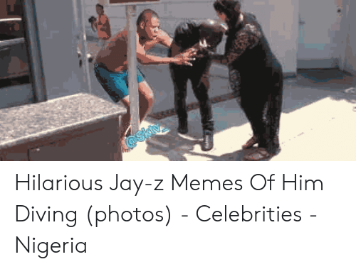 Jay Z Memes: @skiv Hilarious Jay-z Memes Of Him Diving (photos) - Celebrities - Nigeria