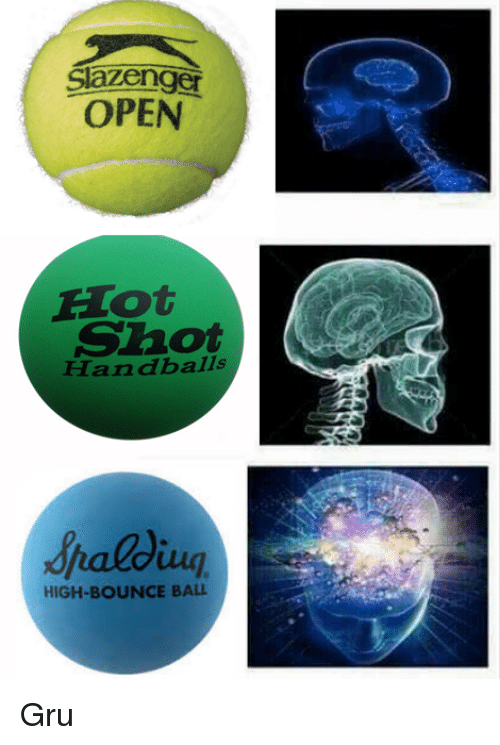Bounc: Slazenger  OPEN  E lot  Shot  Handballs  HIGH-BOUNCE BALL Gru