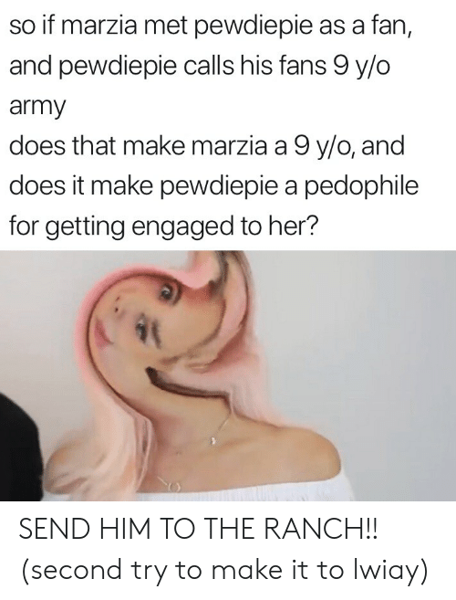 So if Marzia Met Pewdiepie as a Fan and Pewdiepie Calls His