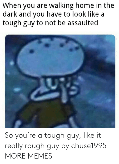 Rough: So you're a tough guy, like it really rough guy by chuse1995 MORE MEMES