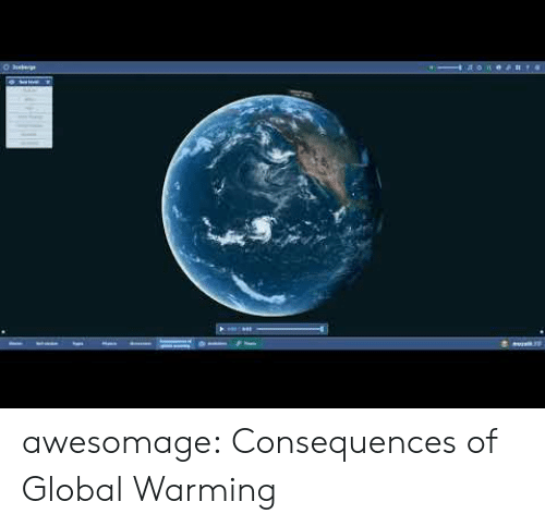 Consequences: soe#t4 awesomage:  Consequences of Global Warming