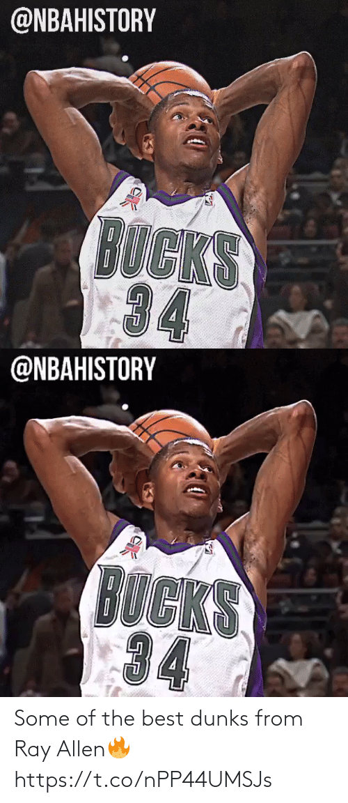 ray: Some of the best dunks from Ray Allen🔥 https://t.co/nPP44UMSJs