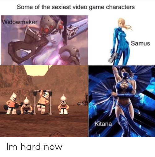 Game, Video, and Video Game: Some of the sexiest video game characters  Widowmaker  Samus  Kitana Im hard now