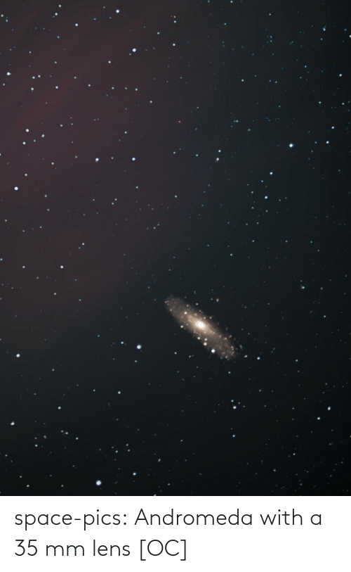 pics: space-pics:  Andromeda with a 35 mm lens [OC]