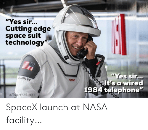 Spacex Launch: SpaceX launch at NASA facility…