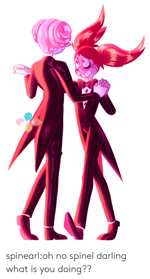 Tumblr, Blog, and What Is: spinearl:oh no spinel darling what is you doing??
