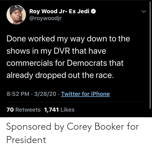 president: Sponsored by Corey Booker for President