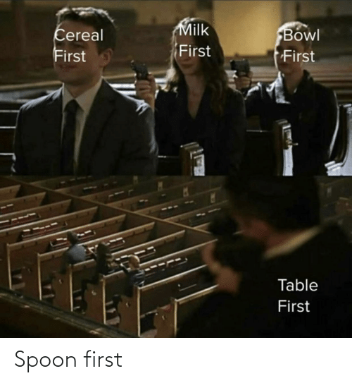 spoon: Spoon first