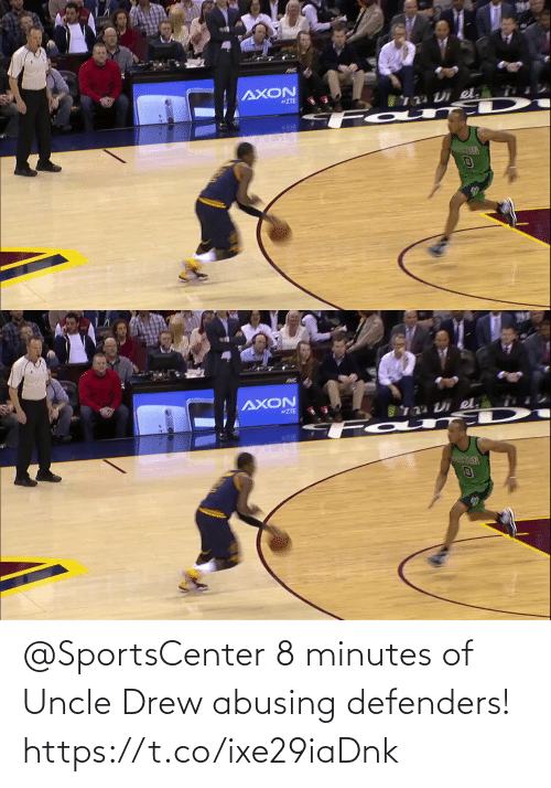 drew: @SportsCenter 8 minutes of Uncle Drew abusing defenders!   https://t.co/ixe29iaDnk