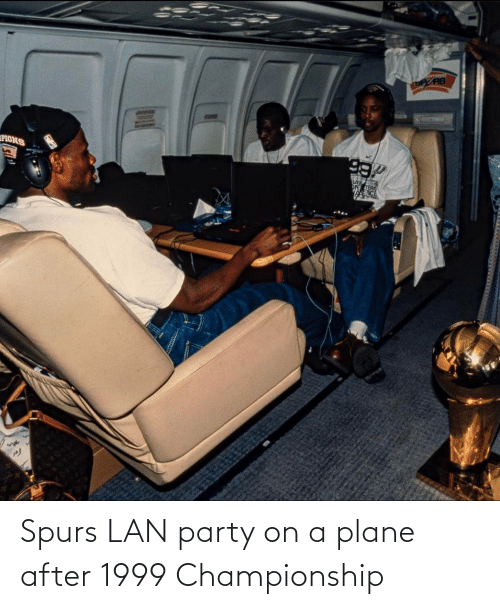Championship: Spurs LAN party on a plane after 1999 Championship