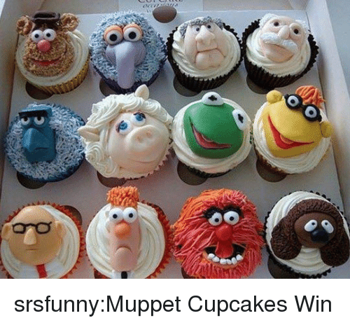 Cupcakes: srsfunny:Muppet Cupcakes Win