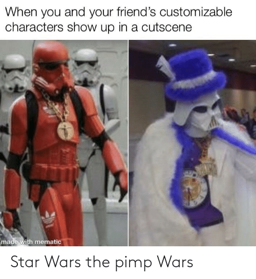 Star Wars: Star Wars the pimp Wars