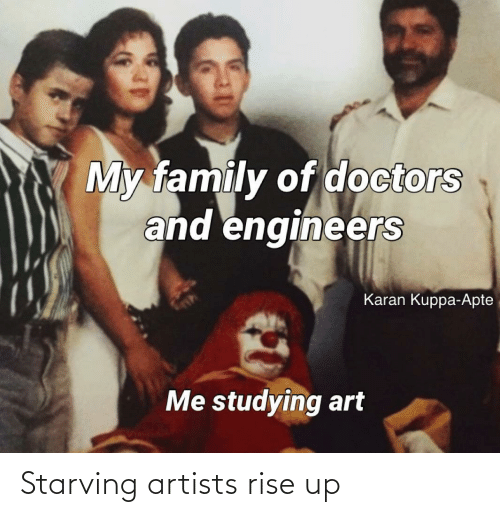 Artists: Starving artists rise up