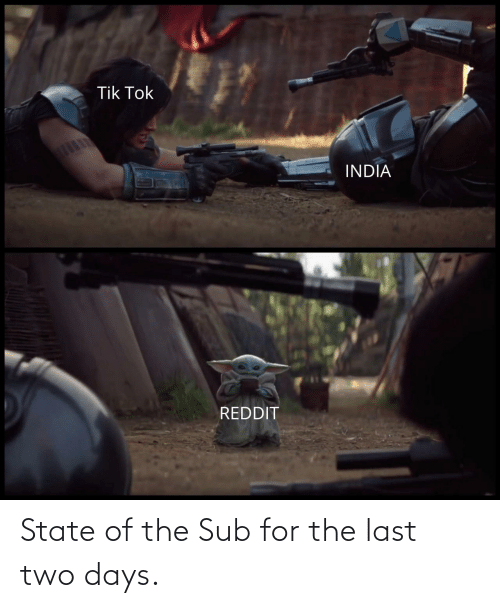 The Last: State of the Sub for the last two days.