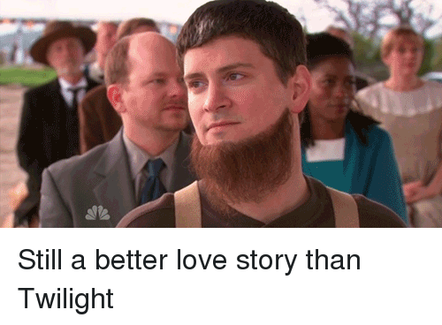 Love, The Office, and Twilight: Still a better love story than Twilight