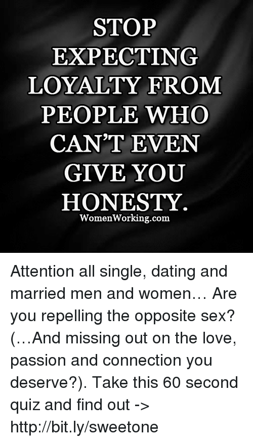 Stop Dating A Married Man