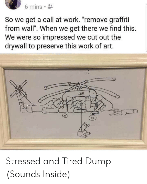 dump: Stressed and Tired Dump (Sounds Inside)