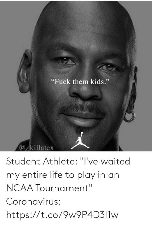 """Football, Life, and Nfl: Student Athlete: """"I've waited my entire life to play in an NCAA Tournament""""   Coronavirus: https://t.co/9w9P4D3I1w"""