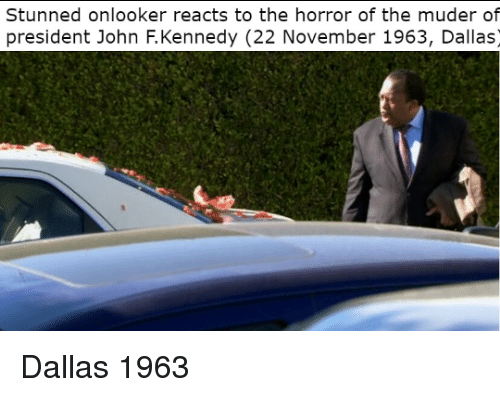 the horror: Stunned onlooker reacts to the horror of the muder of  president John F.Kennedy (22 November 1963, Dallas) Dallas 1963