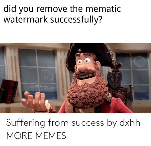 memes: Suffering from success by dxhh MORE MEMES