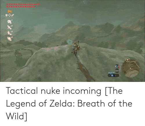 Tactical: Tactical nuke incoming [The Legend of Zelda: Breath of the Wild]