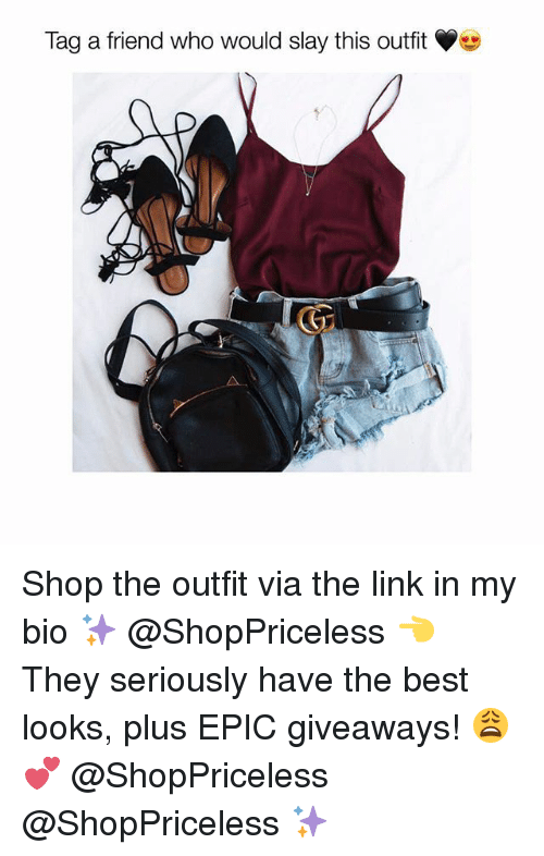 Epicly: Tag a friend who would slay this outfit Shop the outfit via the link in my bio ✨ @ShopPriceless 👈 They seriously have the best looks, plus EPIC giveaways! 😩💕 @ShopPriceless @ShopPriceless ✨