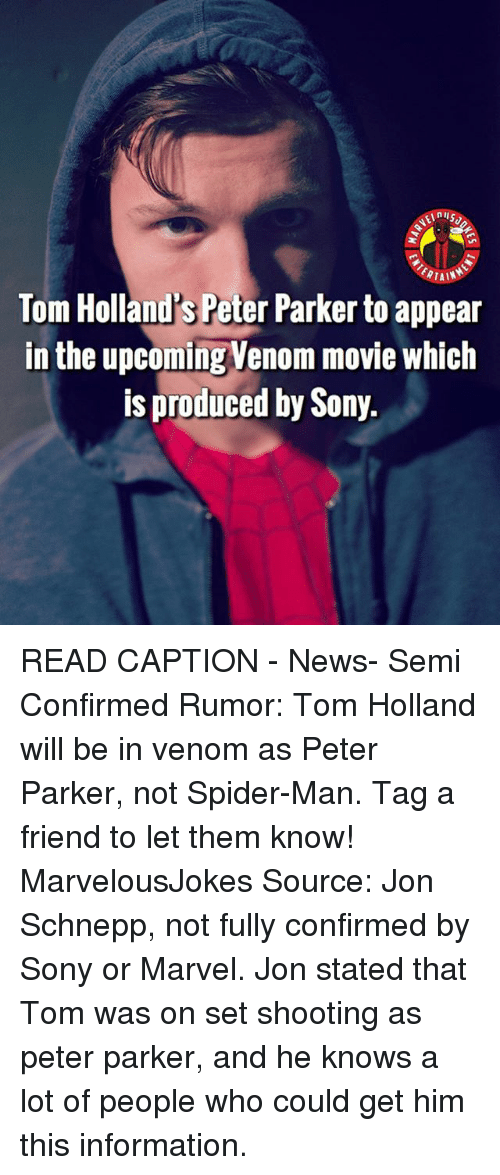 Tain Tom Hollands Peter Parker To Appear In The Upcoming